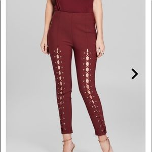 Marciano lace up pants. Size XS